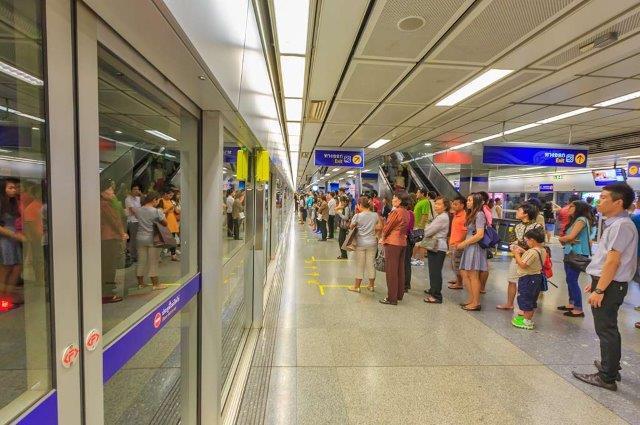 Métro dénommé MRT (Mass Rapid Transit)