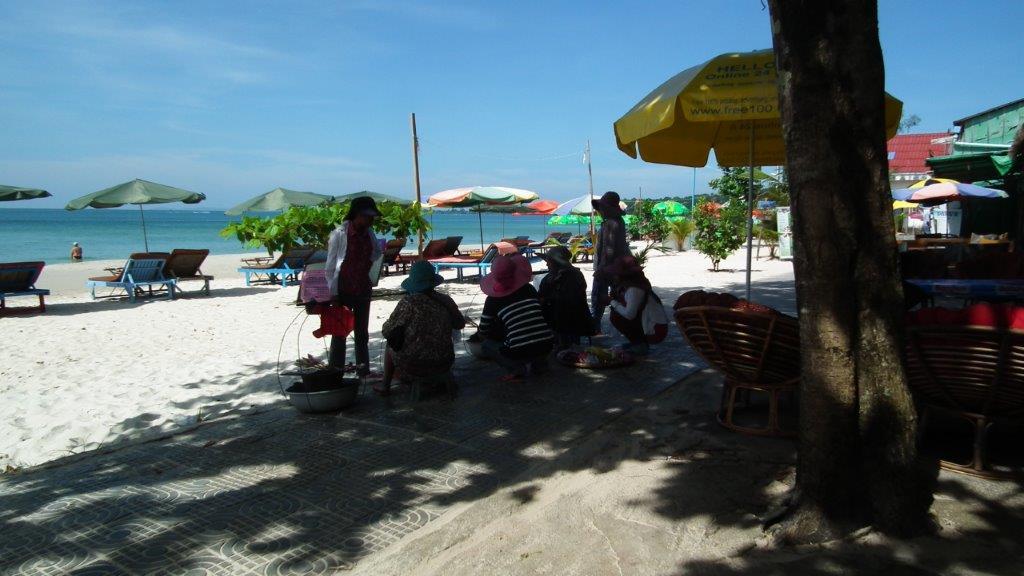 Vendeurs de plage