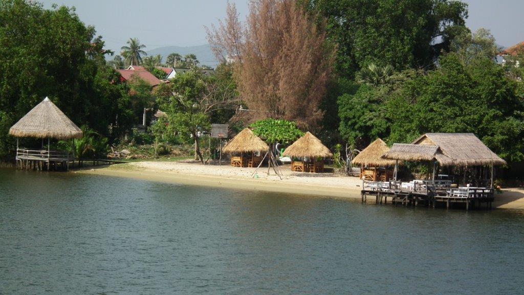 kampot ville du Sud  située entre Sihanoukville  et kep