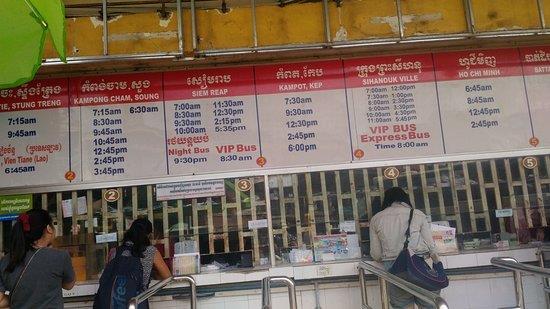 Bus de Phnom Penh