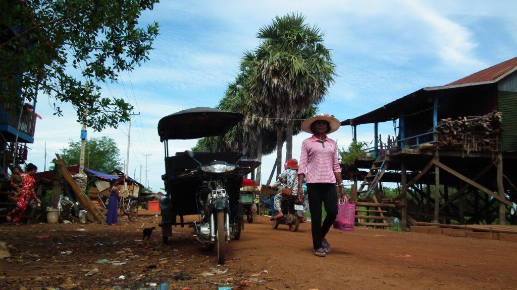 De Siem Reap au Tonlé Sap en Tuk-Tuk