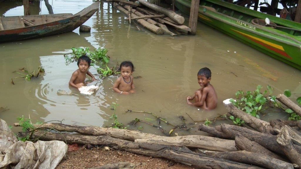 Enfants du Tonlé Sap