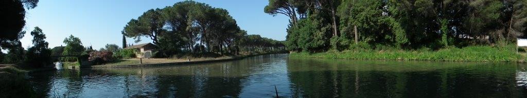 Point de rencontre avec le Canal de la Robine