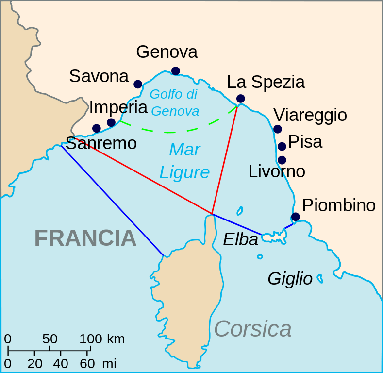 mer Ligurienne