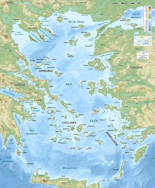 mer Adriatique Carte