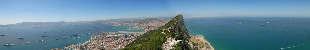 Détroit de Gibraltar ( Plus haute résolution )