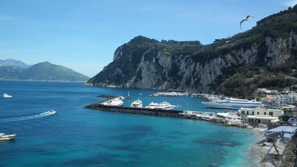 Naples, Capri, le Vésuve, Pompéi...