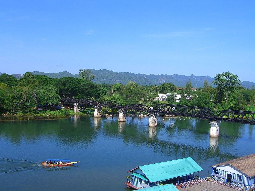Pont sur la rivière Kwaï
