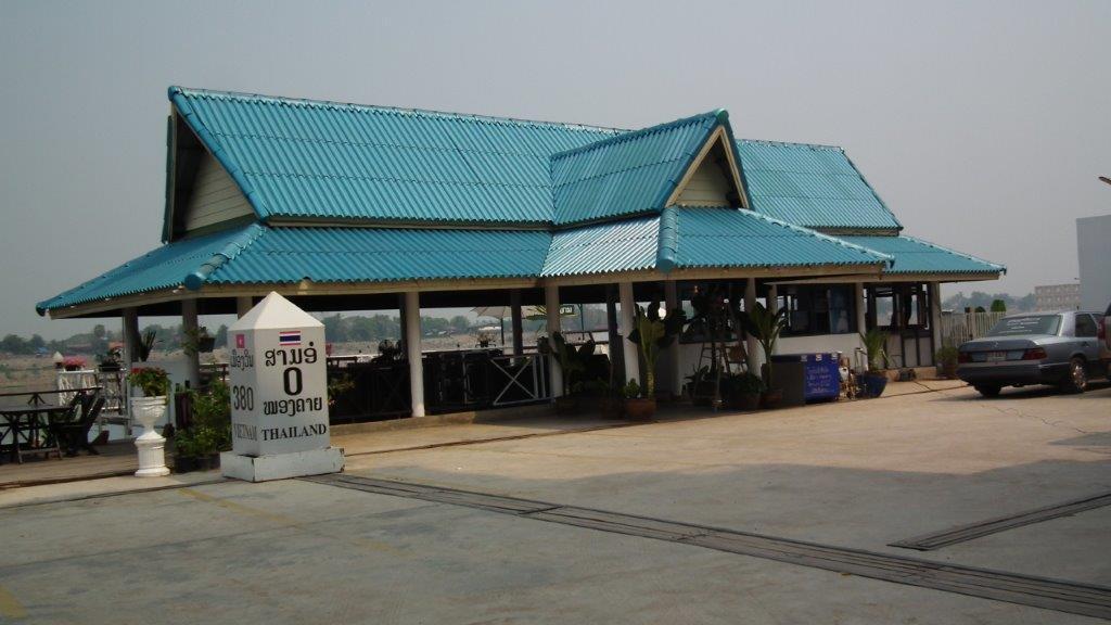Frontière entre le Laos et la Thaïlande