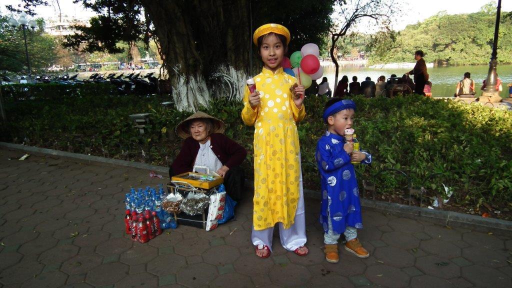 Enfants vietnamien