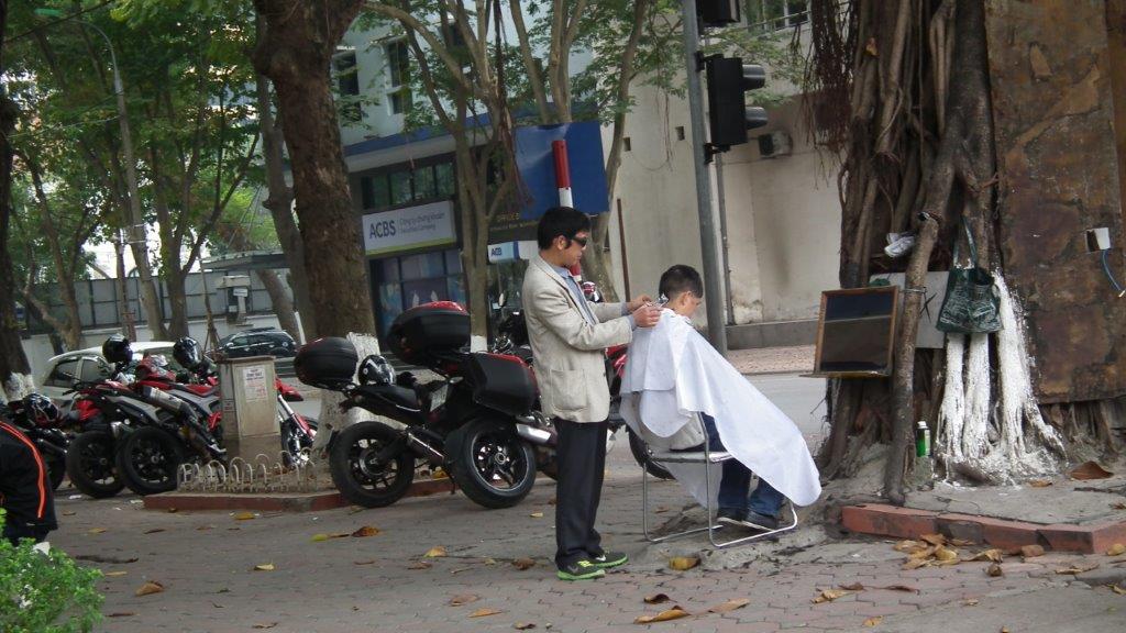 Coiffeurs de rue