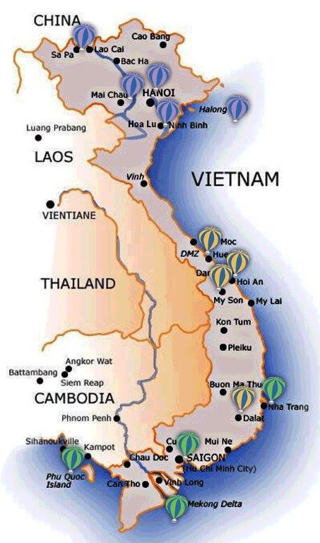 Hanoï et la Baie de Hạ Long