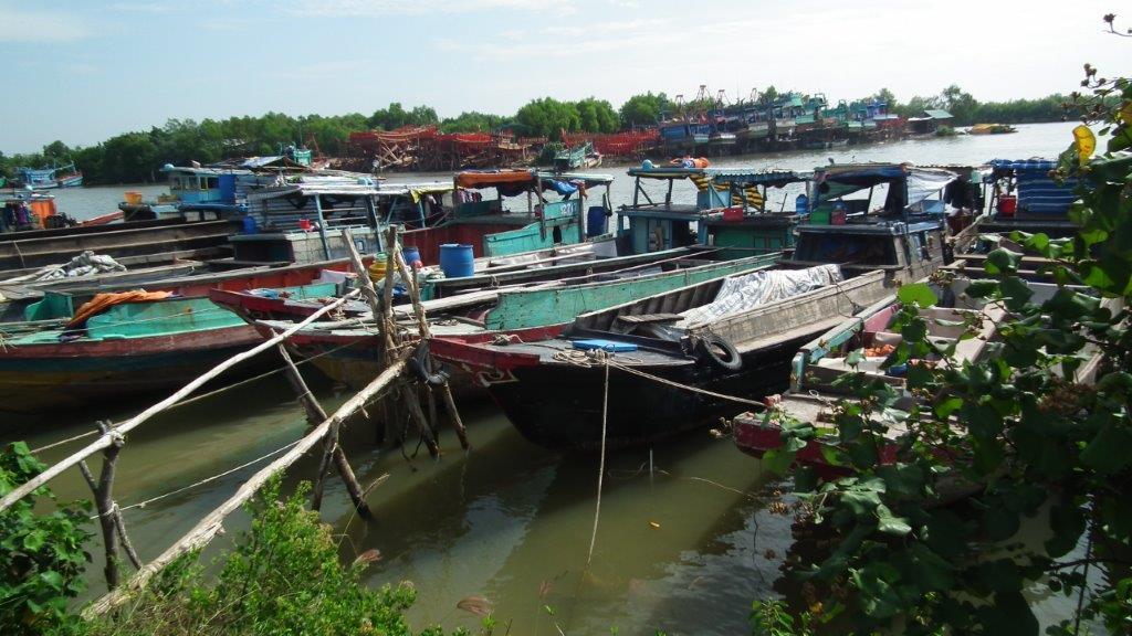 Bateau de pêche typique