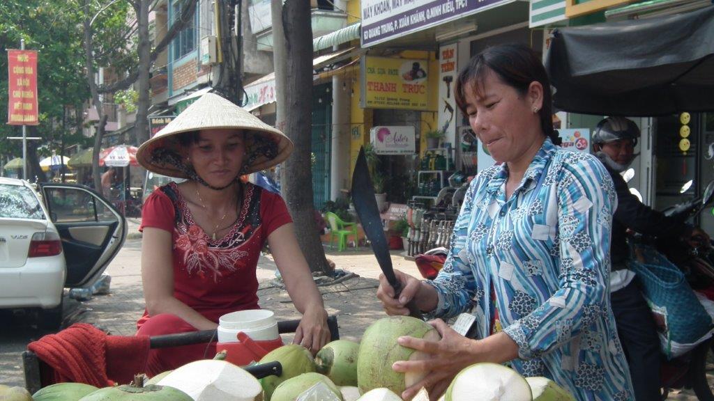 Vendeuse de Coconut