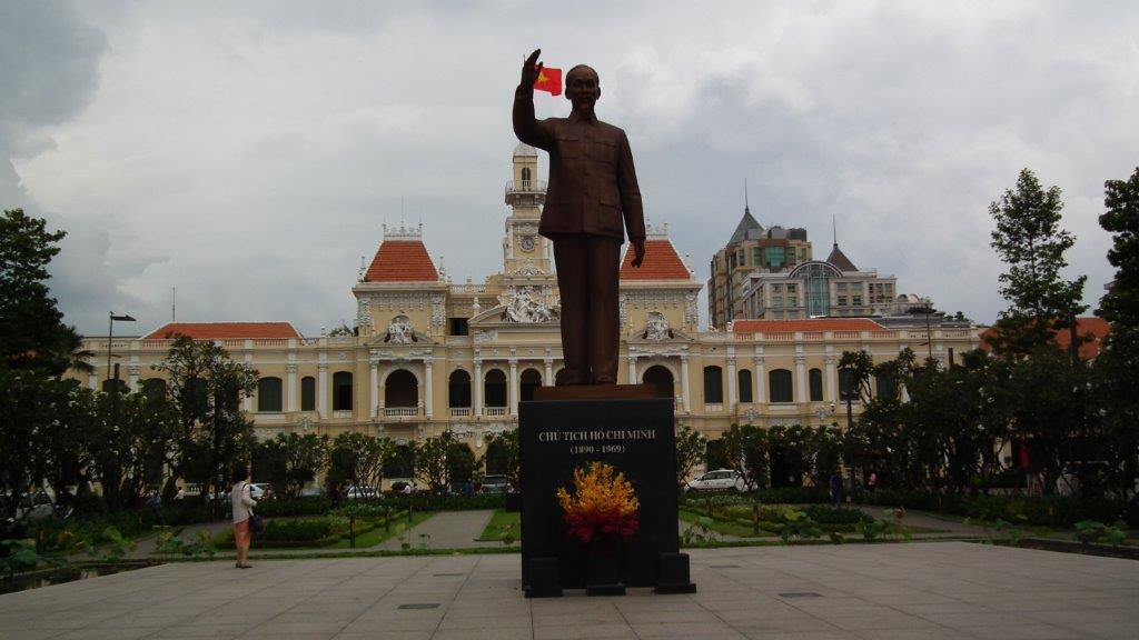 Hôtel de ville Hô-Chi-Minh-Ville (Saigon).