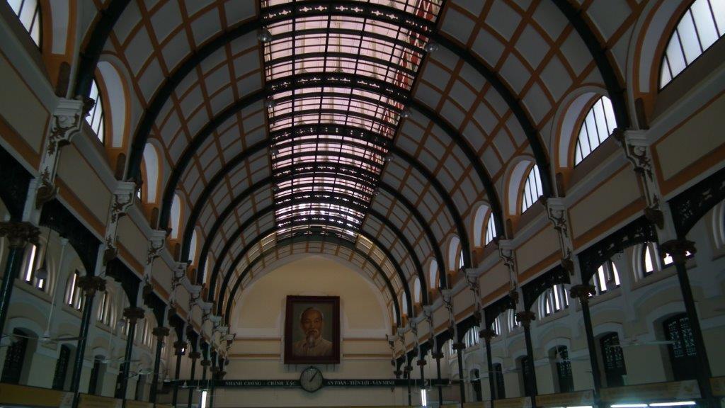 Intérieur de la Poste centrale