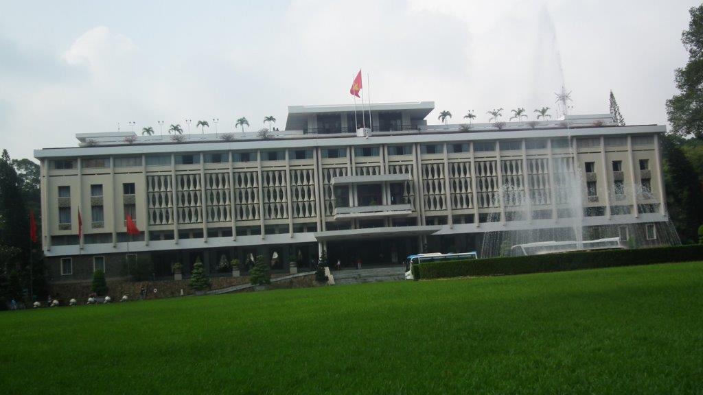 Le palais de la Réunification (ancien palais présidentiel)